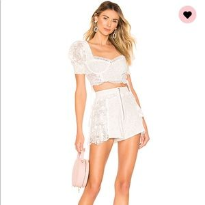 For love and lemons set Indio top/Las palmas M